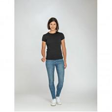 T-shirt basic aansluitend model
