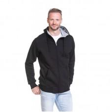 Sweater vest  hoodie Cardigan contrast kleur capuchon