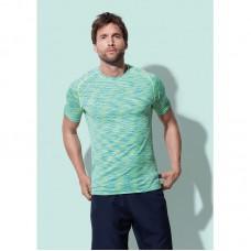T-shirt sport naadloos raglan mouw