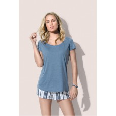 T-shirt Oversized model ronde hals
