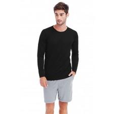 T-shirt sport active dry raglan lange mouwen