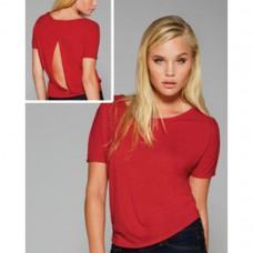 Top party shirt split op rugzijde sale artikel