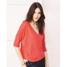 Dames t-shirt/top V-hals sale artikel