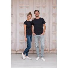 Basic t-shirts hoge ronde hals 3 kleuren sale