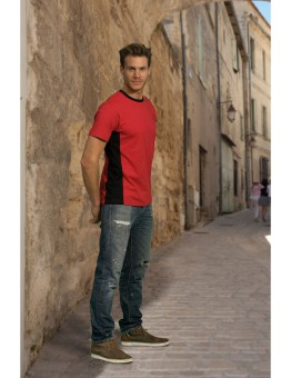 T-shirt extra grote maat bio-washed