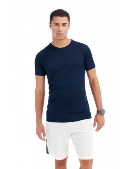 T-shirt sport active dry raglan korte mouw