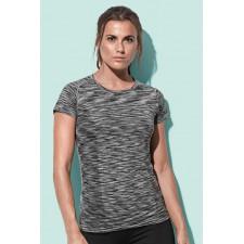T-shirt Sport raglan mouw melange kleuren