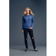 Sweatshirt semi fitt silhouet katoen polyester