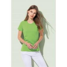 T-shirt ronde hals klassiek organische katoen
