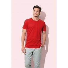 T-shirt extra zachte katoen met ronde hals