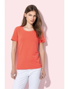 T-shirt Top relaxte basic trendy kleuren