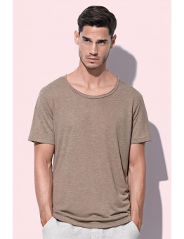 T-shirt Oversized model lage ronde hals